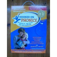 Английский для детей учимся читать Hooked on phonics красный уровень