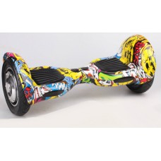Ховерборд All road колеса надувные 25 см с сумкой желтый