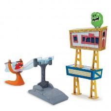 Игровой набор рогатка с пусковым механизмом Angry Birds