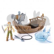 Игрушки На абордаж Лесаро с катапультой Пираты карибского моря