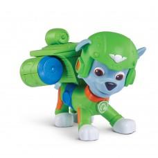 Игрушка Роки с летающим аппаратом и значком