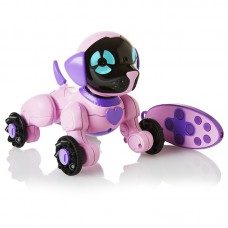 Интерактивный щенок Чип WowWee mini розовый