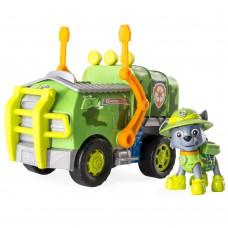 Спасательный автомобиль Щенячий патруль Джунгли и водитель Рокки