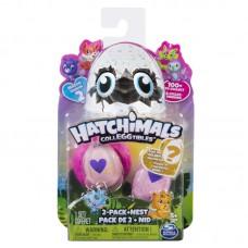 Игровой набор гнездо и 2 коллекционные фигурки в яйцах сезон 2 Hatchimals