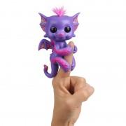 Интерактивная игрушка Дракончик на палец Fingerlings фиолетовый
