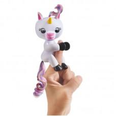 Интерактивная игрушка Единорог на палец Fingerlings белый