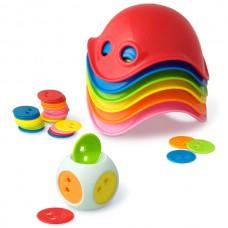 Игрушка для пляжа Билибо Мини 6 шт в наборе с кубиком Moluk