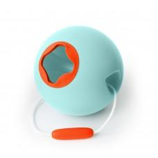 Ведерко для игры с песком сфера Ballo оранжевый Quut