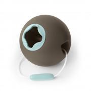 Ведерко для игры с песком сфера Ballo серый Quut