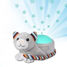 Музыкальный ночник с проектором котик Кики