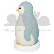 Светильник в детскую для чтения пингвиненок Pam cиний