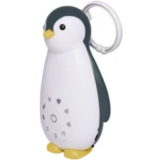 Ночник музыкальный в детскую Пингвиненок Zoe Bluetooth серый