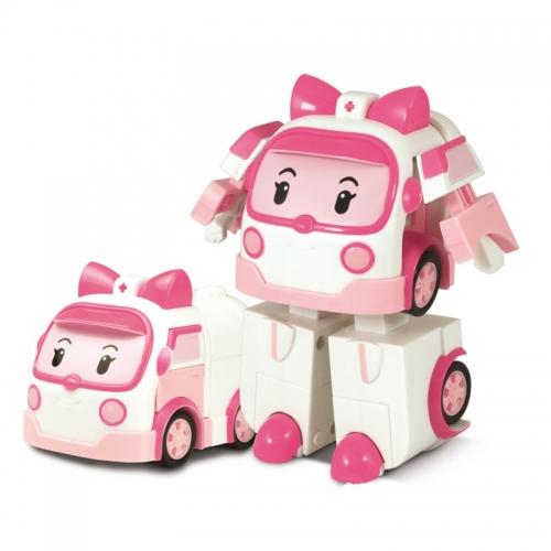 игрушка робот трансформер эмбер поли